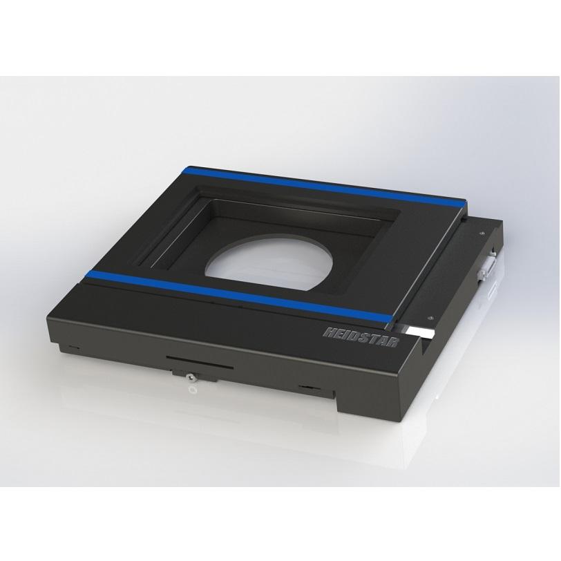 注: 1.海德星科技还提供显微镜电动Z轴及控制系统,与XY平台配合使用。可进行3D图像的采集,长时间的图像获取,断层光切扫描图像,三维影像重构等操作 2.提供底层控制命令及DLL库函数命令库 3.可与海德星科技手动控制杆配合使用 4.可与海德星科技电动物镜转换器配合使用 5.可与海德星SLP自动上片机配合使用 几何尺寸  使用环境 室温:5°~30 由于浸液的折射率会随着温度的变化而发生改变,使用油镜时,为了得到理想的像质,室温最好控制在22~25 湿度:相对湿度45%~85% 震动:振动小。