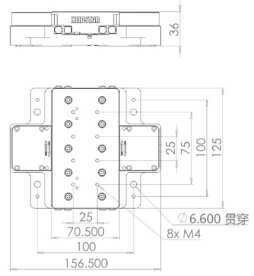 slp系列是海德星科技自主研发生产的由压电线性马达驱动